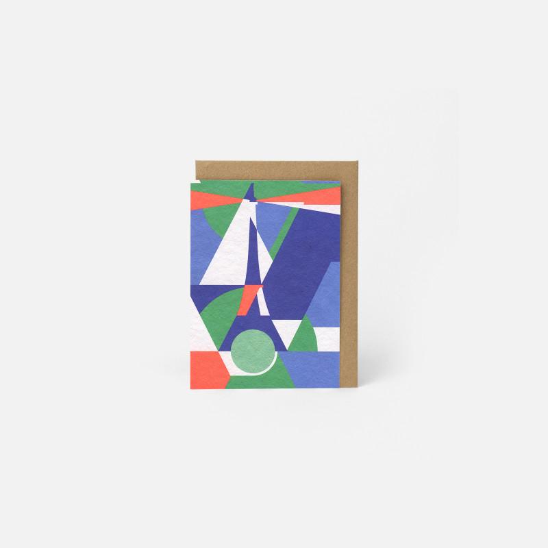 A6 Greeting Card - Paris