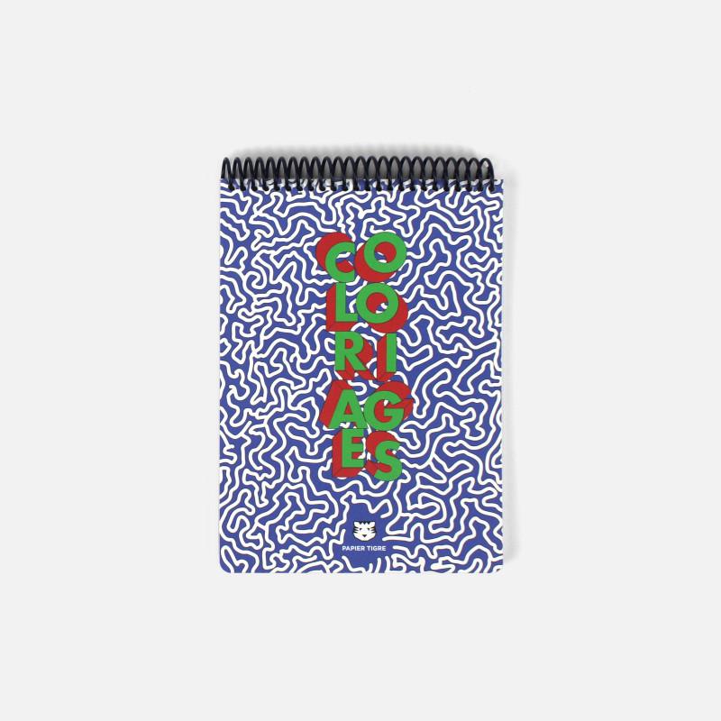 Cahier de coloriages A5