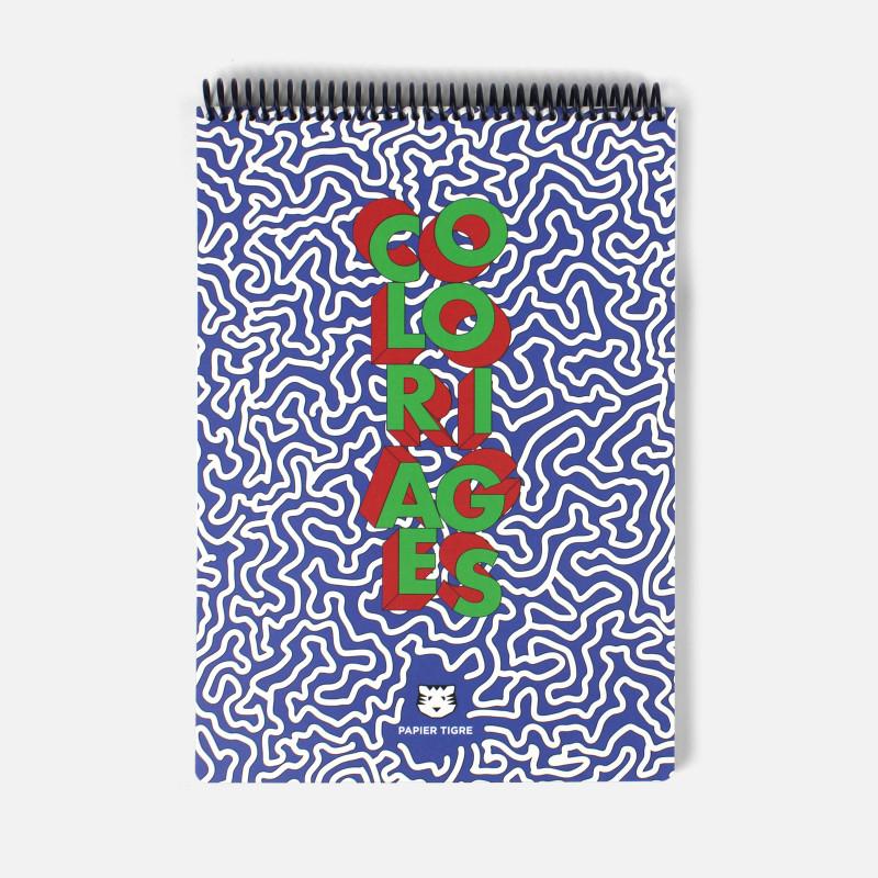 Cahier de coloriages A4