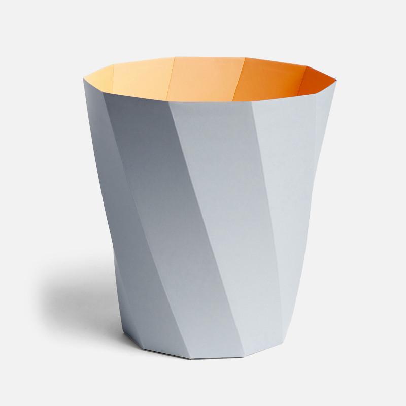 Paper Bin - Light Grey