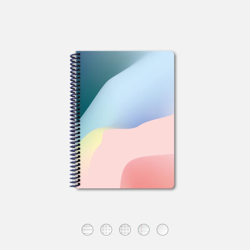Notebook A5 Wave Pink