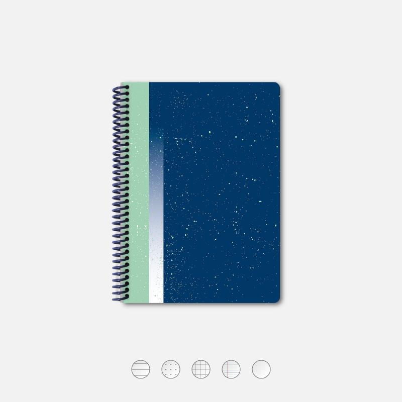 Hubble Sea A5 Notebook
