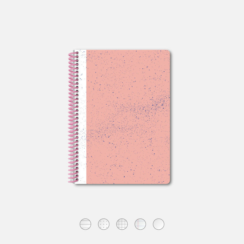 Pink Hubble A5 Notebook