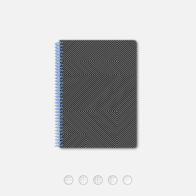 Notebook A5 Kinetic black