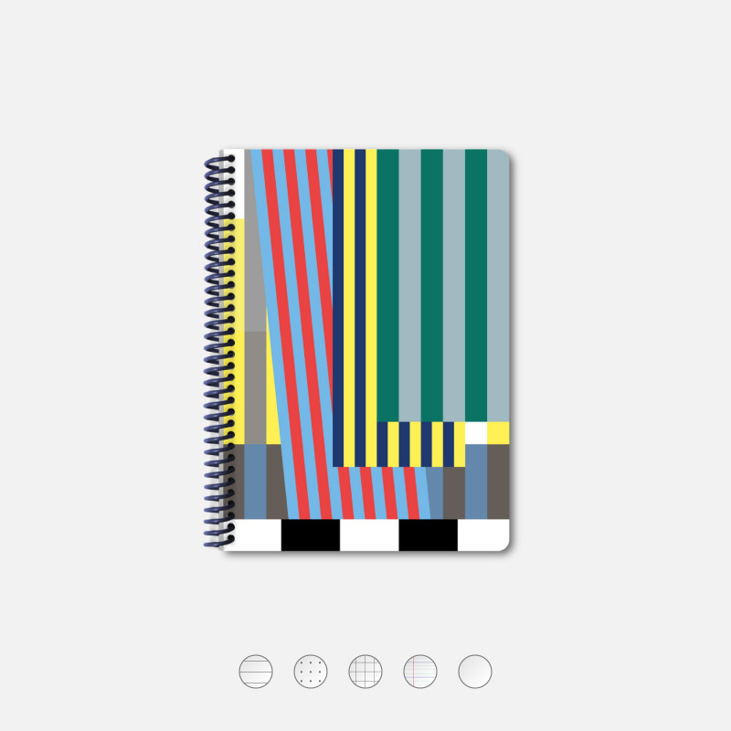 Notebook A5 Ribbons