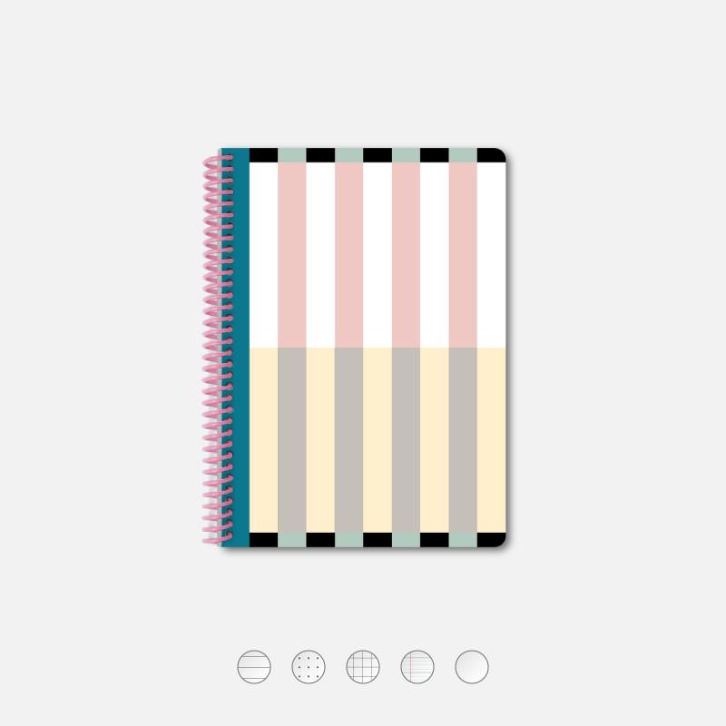 Notebook A5 Playground Pink