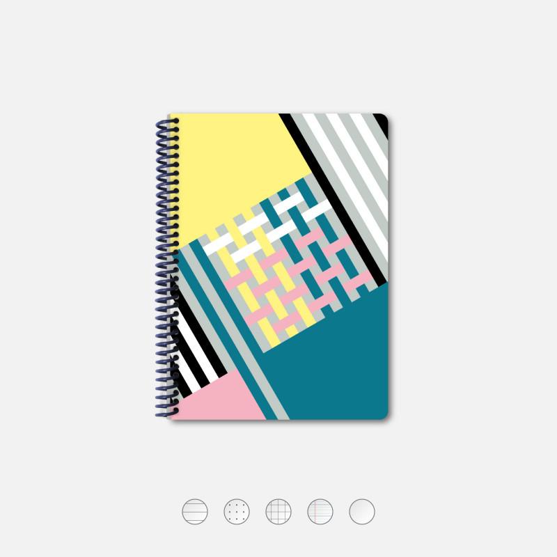Woven A5 Notebook