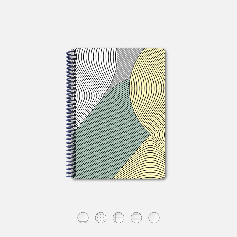 A5 Notebook - Circuit