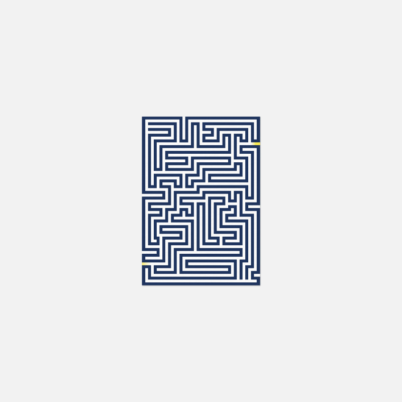 Card A6 - Labyrinth