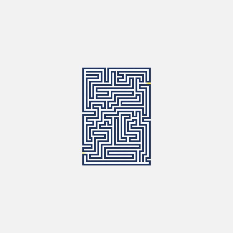 Carte A6 - Labyrinthe