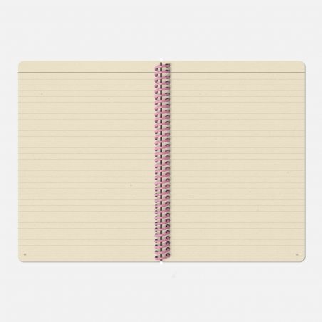 The Plain Canvas A5 Notebook - Navy