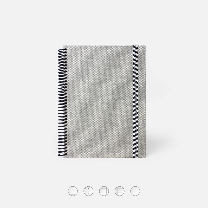 Plain Canvas A5 Notebook -...