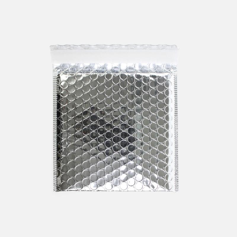 Enveloppe bulles - Argent