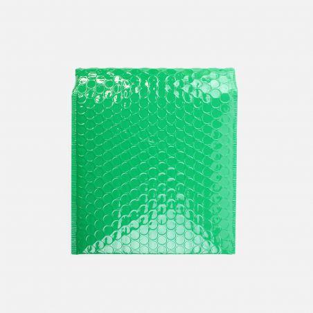 Enveloppe bulles - Vert brillant