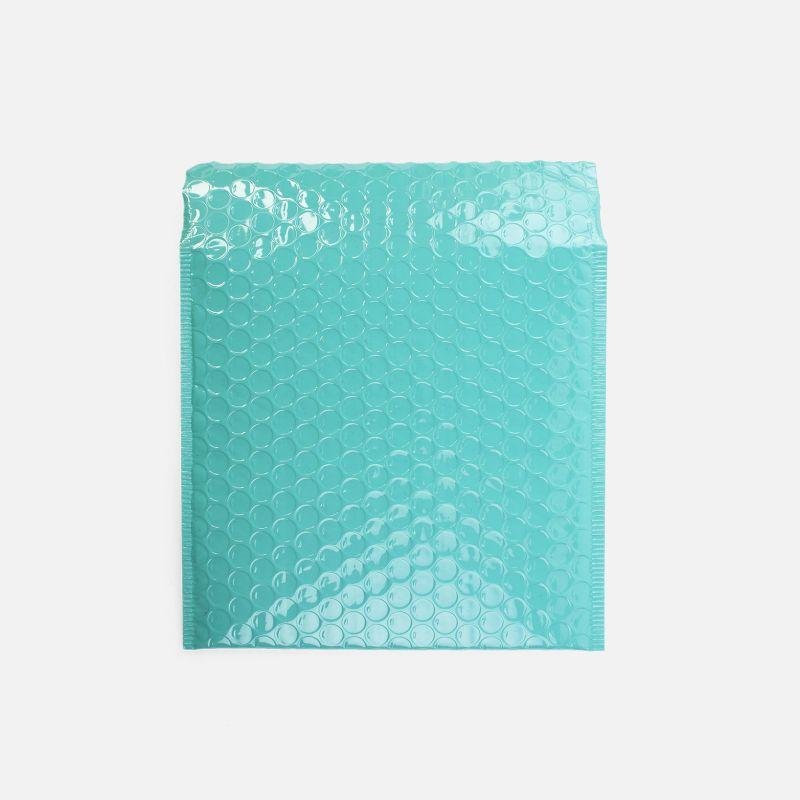 Enveloppe bulles - Mint brillant