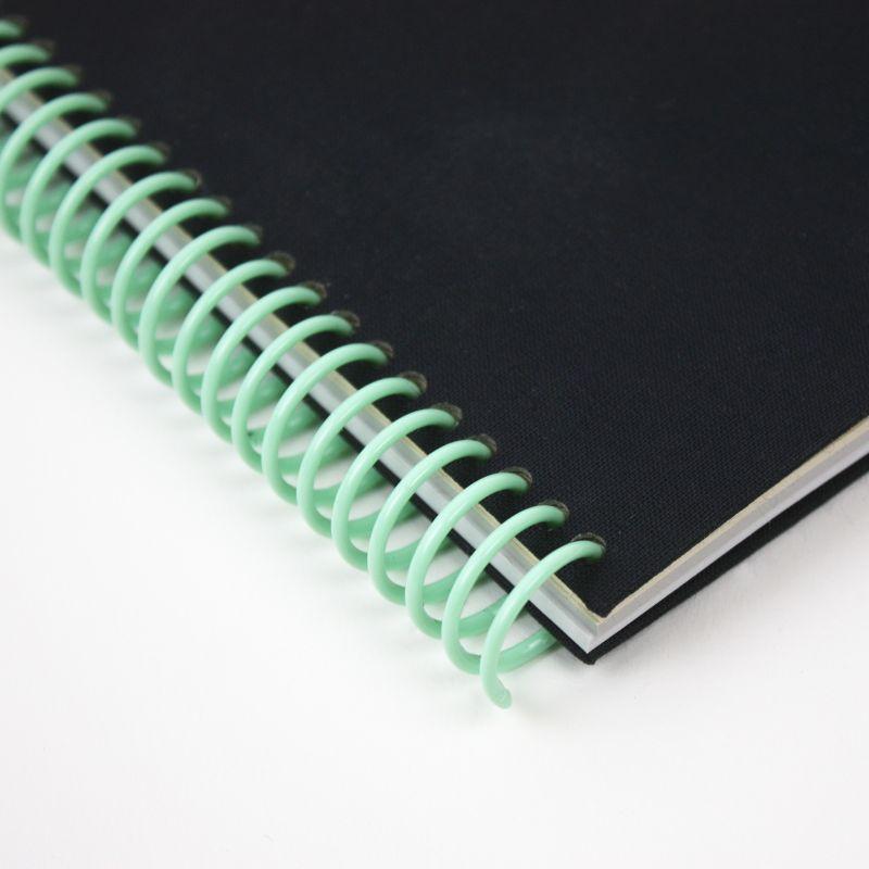 A5 plain canvas notebook - Gotham