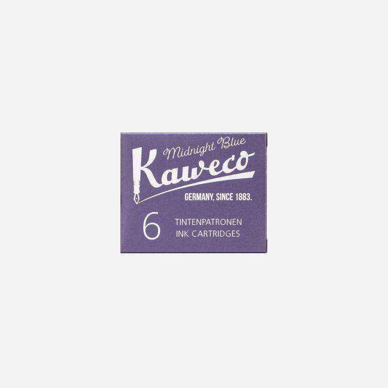 Box 6 cartridges Midnight Blue Kaweco