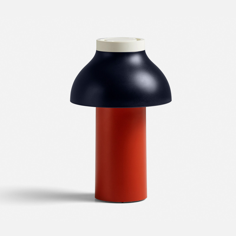 Pierre Charpin lamp - Red/Navy