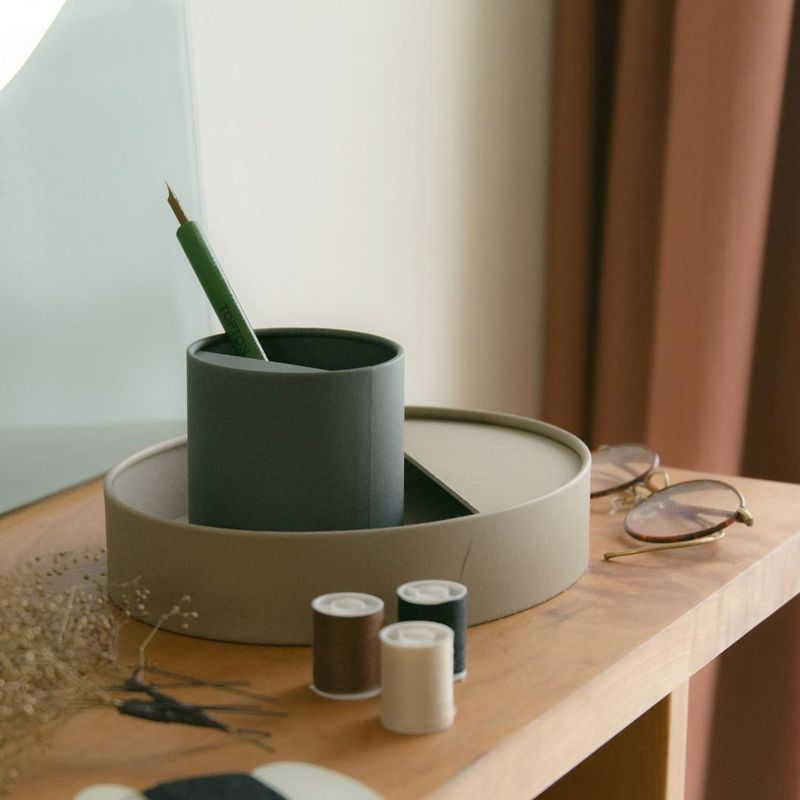 Large Pencil Cup - Brown