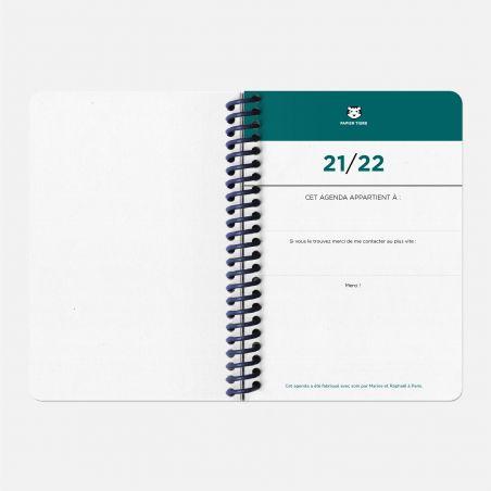 Agenda A6 21/22 Circuits bleu
