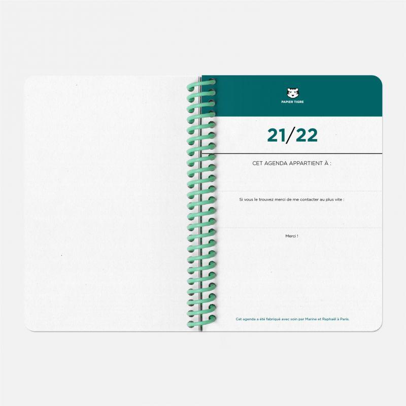 Agenda A6 21/22  Vinyle